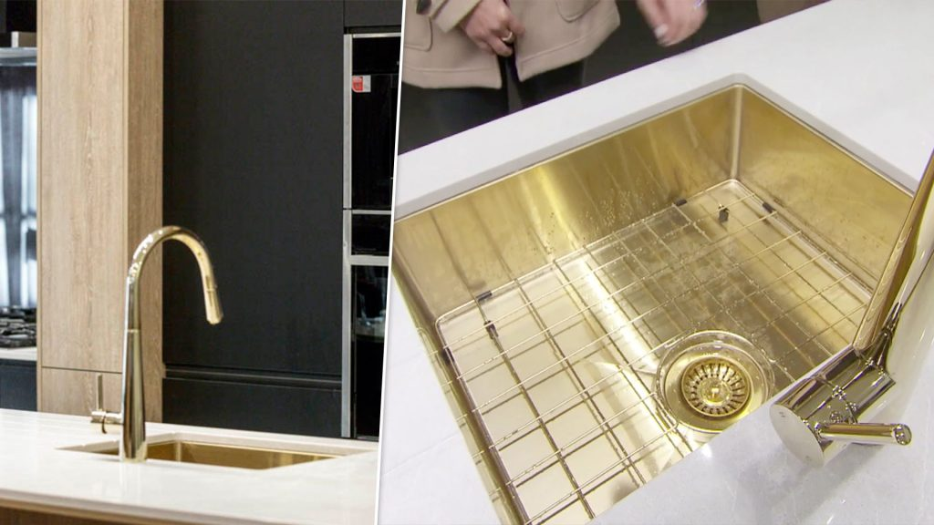 Gold Sink & Tap